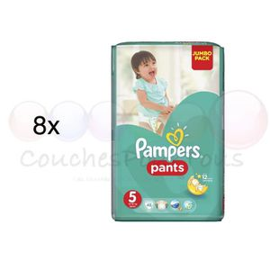 COUCHE 384 COUCHES-CULOTTES PAMPERS PANTS taille 5