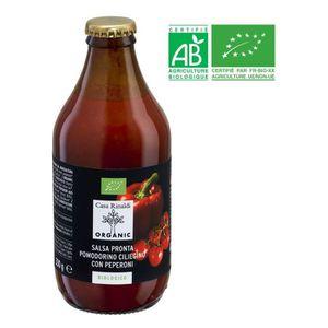 AUTRES SAUCES FROIDES Sauce tomate et piment bio - 330 g