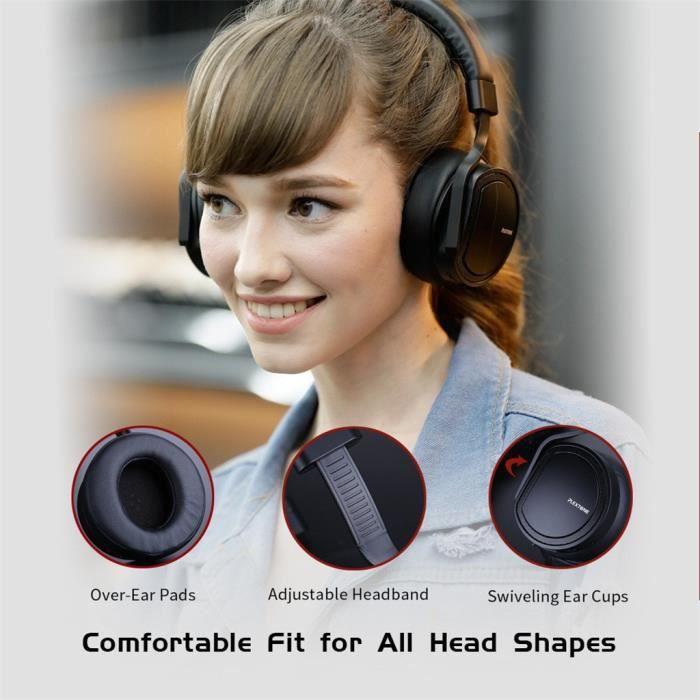 Bluetooth Filaire Sans Fil D'une Oreille Pour Casque Jeux Vidéo Musique Parler Sport @lm5105