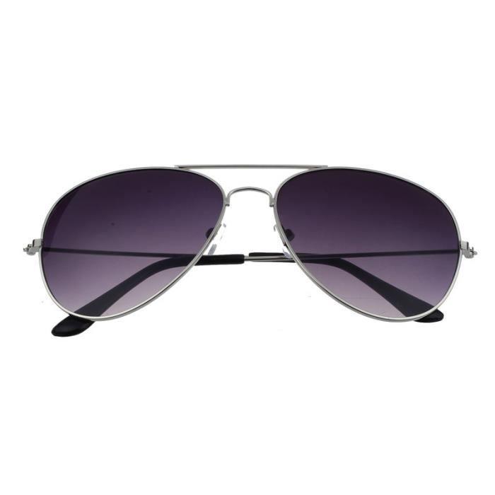 lunettes de Femmes unisexe metal soleil Classic rétro frame hommes T6TRnxg