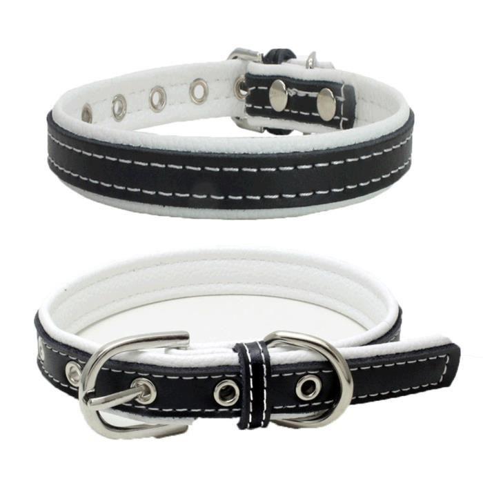 Boucle Réglable Exquis Chien Puppy Pet Colliers Wh - S Ycc70627555whs_1234