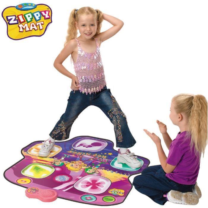 mts tapis de danse électronique pour enfant- tactile et musical