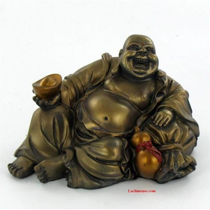 bouddha rieur chance et prosp rit achat vente statue statuette soldes d s le 10. Black Bedroom Furniture Sets. Home Design Ideas
