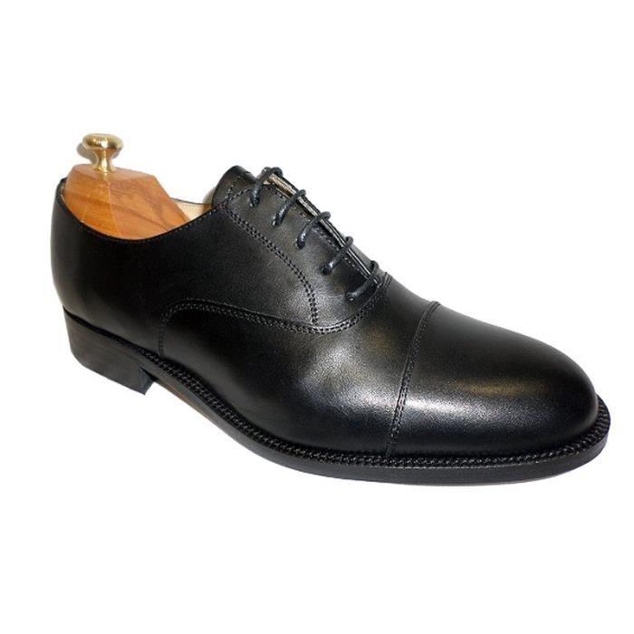 Stradford Chaussure Richelieu Noir en cuir de veau Noir