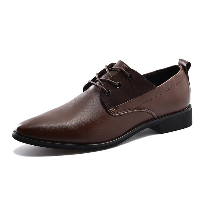 Chaussures en cuir pour hommes occasionnels