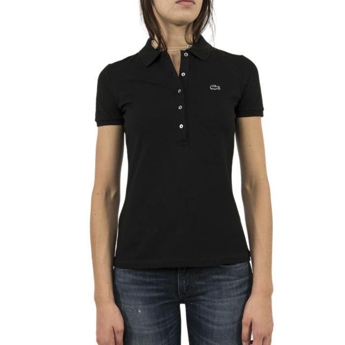 92a899847c Polos lacoste pf7845 noir Noir Noir - Achat / Vente t-shirt - French ...