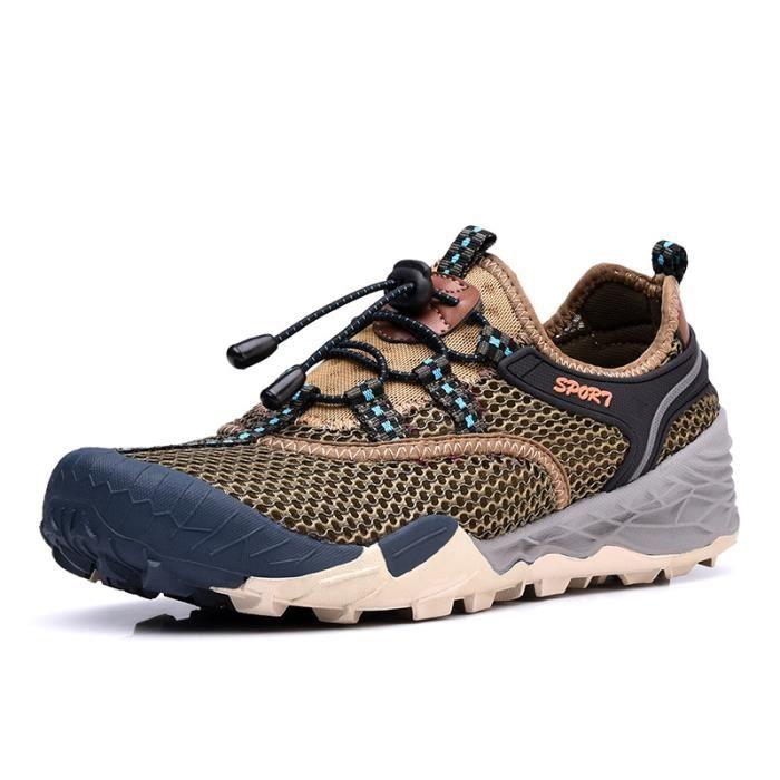 Baskets Homme Chaussure Jogging Sport léger Respirant Chaussures BCHT-XZ219Vert40 OO2LD9