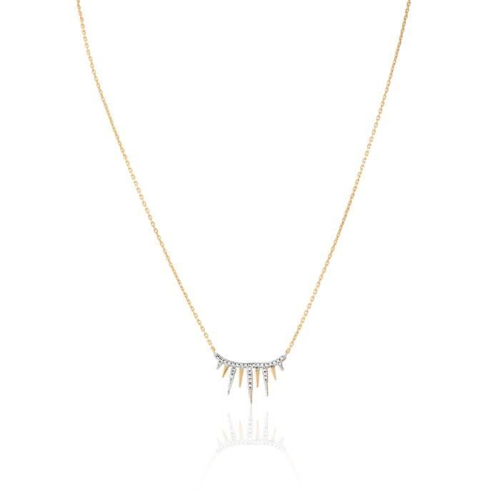 Collier CLEOR Plaqué Or Oxyde - Z0148924
