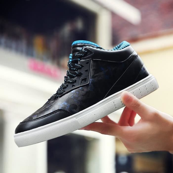 a95ac242f56 chaussures montantes Mode Chaussure Homme Basket Homme Skate Shoes  xEnAIuTZD ...