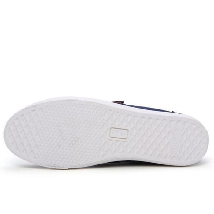 Chaussures En Toile Hommes Basses Quatre Saisons Populaire BMMJ-XZ114Noir39 EcstFz1d