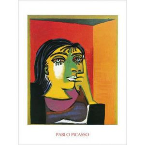 AFFICHE - POSTER Pablo Picasso Poster Reproduction - Dora Maar I (8