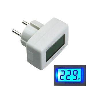 MULTIMÈTRE DM55-1 EU Plug écran LCD numérique AC 80-300V test