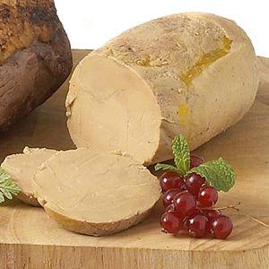 FOIE GRAS Foie gras de canard entier façon torchon