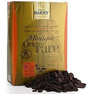 CHOCOLAT EN TABLETTE CHOCOLAT DE COUVERTURE BARRY NOIRE /MEXIQUE ORIGIN