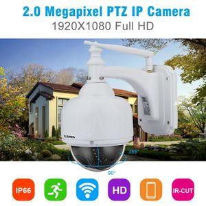 CAMÉRA IP 1X Caméra IP FLOUREON 1080P Wifi 2.7-13.5mm H.264