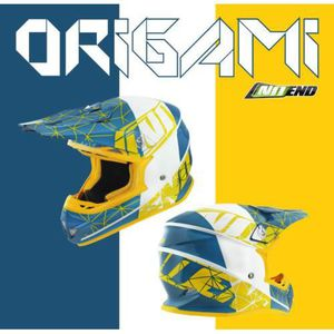 CASQUE MOTO SCOOTER Casque cross NO END Origami moto enduro cross scoo