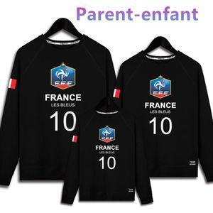 MAILLOT DE FOOTBALL Maillot de l'équipe de France Parent-enfant Sweat-