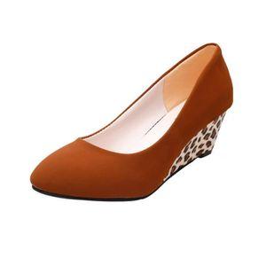 SLIP-ON Reservece  Fashion Femmes Round Toe Platform High