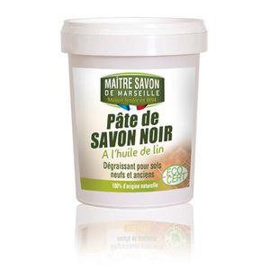 NETTOYAGE SOL MAITRE SAVON Pâte de savon noir à l'Huile de lin