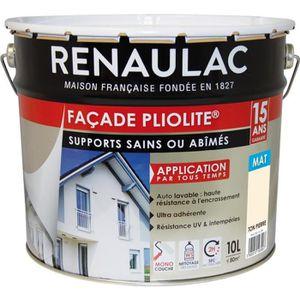 PEINTURE - VERNIS RENAULAC Peinture de façade Pliolite Haute résista
