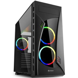 UNITÉ CENTRALE  PC Gamer, AMD Ryzen 7, RTX 2080, 1To SSD, 3To HDD,