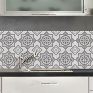 CREDENCE CREDENCE ADHESIVE MOSCOU GRIS 40X100 CM