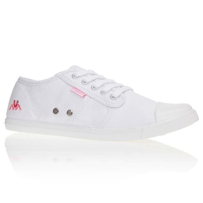 KAPPA Baskets Keysy Chaussures Femme Blanc Achat Vente