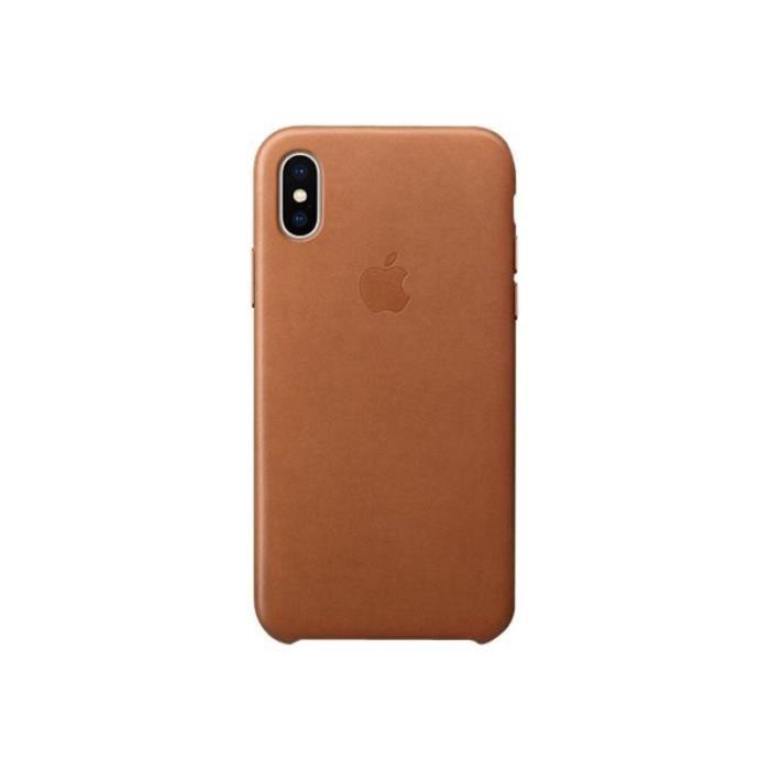coque apple cuir iphone xr