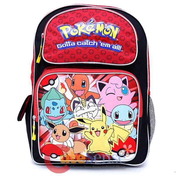 Sac à dos Pokémon 30 cm Rouge RO9wc1