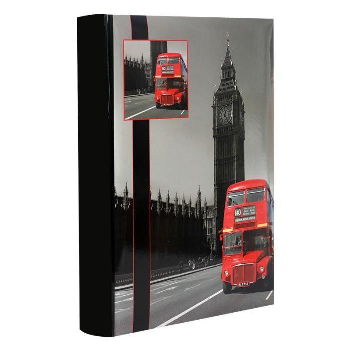 album photo pochettes londres pour 300 photos 10x15 cm achat vente album album photo. Black Bedroom Furniture Sets. Home Design Ideas