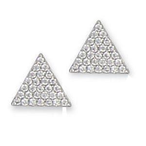 SF Bijoux - Boucles doreilles argent 925-1000e et Oxyde de Zirconium