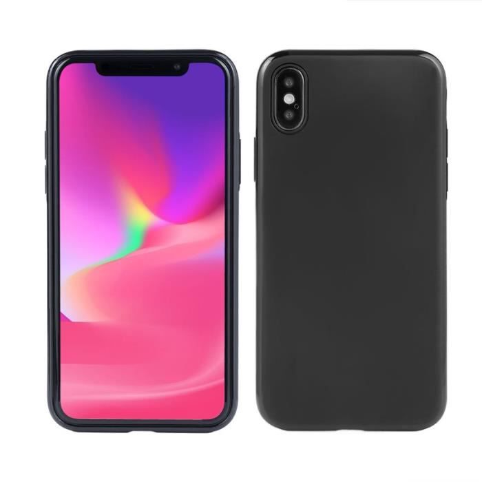 coque aimante iphone x induction