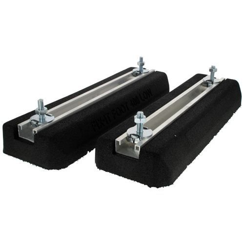 support au sol anti vibratiles 400 x 180 x 50mm achat. Black Bedroom Furniture Sets. Home Design Ideas