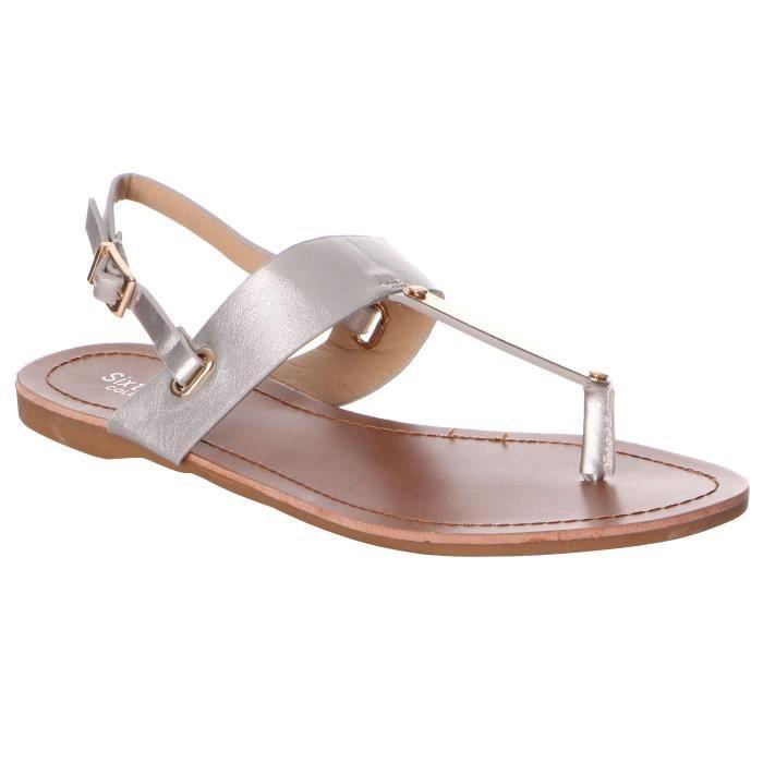 Sandales plates entre-orteils 3KVdh59