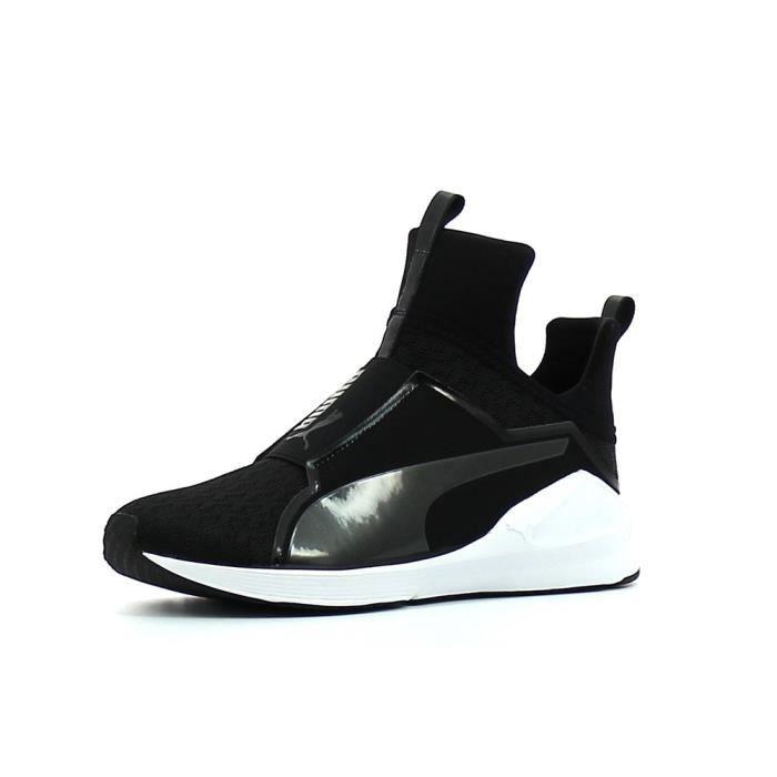 Puma Fierce Wns Knit Femme Noir Sportswear Chaussures r6qtTIr