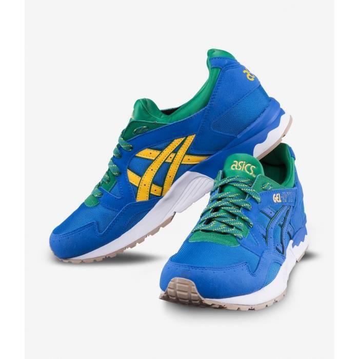 économiser 10e8e 1b7f9 Basket Asics Gel Lyte V Bleu - Édition Brésil - Chaussure Running Homme