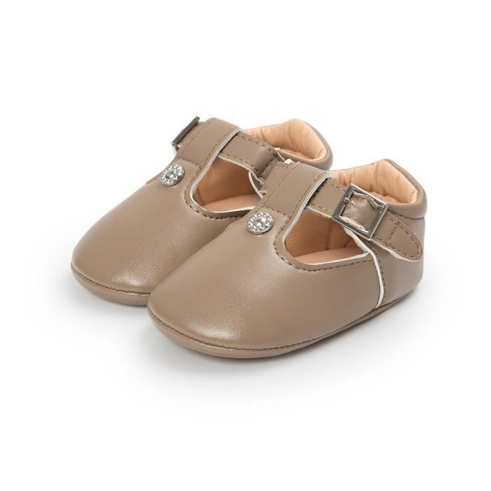 doux cuir bas en chaussures Sh fille bébé semelle en enfant KhakiHM BOTTE âge Toddler dérapant anti mignon né nouveau 7xfn8w0BqA