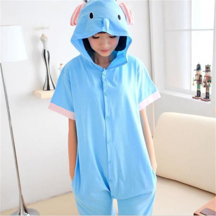 Confortable Femmes Unisexe De Coton Nouvelle Adulte D'été Animé Pyjama Extraterrestre Nuit Vêtements Mode Pour Costume Dessin wAYxqrAzH