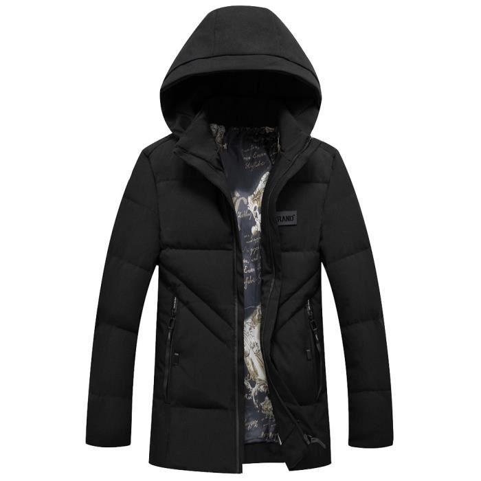 Coat Slim Trench Pardessus Caps Noir Vert Hommes Automne Veste Outwear Long Vin Zipper Armée Hiver Rouge w80X41nq
