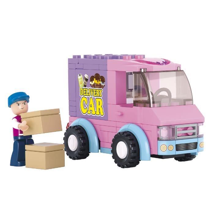 voiture lego fille achat vente jeux et jouets pas chers. Black Bedroom Furniture Sets. Home Design Ideas