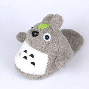 MENGMA Paire de Chaussons en Peluche Pantoufle Chaud Style Totoro Mignon uQBssAKeum
