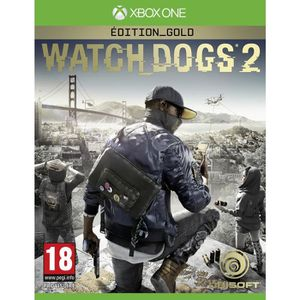 Watch Dogs 2 Edition Gold Jeu Xbox One