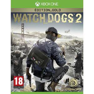 JEU XBOX ONE Watch Dogs 2 Edition Gold Jeu Xbox One