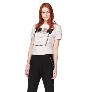 T-SHIRT NEW LOOK T-Shirt Gris et Noir Femme