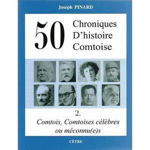 LIVRE SCIENCES 50 chroniques d'histoire comtoise