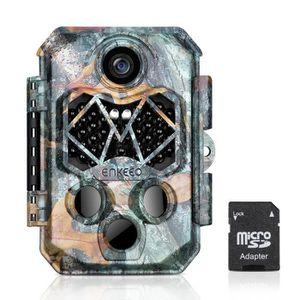 CAMÉSCOPE NUMÉRIQUE ENKEEO 20MP Caméra de Chasse 1080P HD Caméra de Se