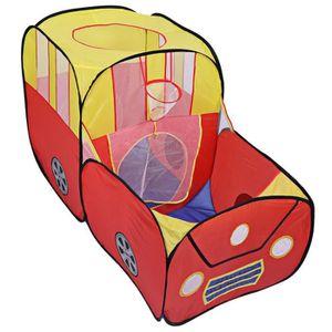 TENTE TUNNEL D'ACTIVITÉ Tente enfant Tente à balles piscine de balles form