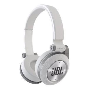 CASQUE - ÉCOUTEURS JBL E40BT Casque audio Bluetooth blanc