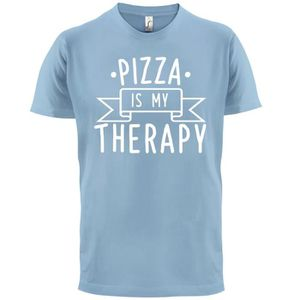 T-SHIRT Dressdown - pizza is my therapy - Homme T-Shirt -