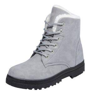 BOTTINE HEE GRAND Boots de Neige Femme Chaud A Lacet